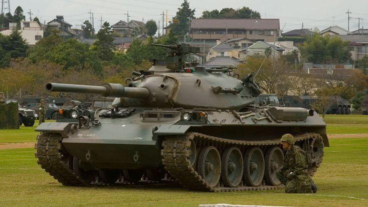 Japanese - Type 74 tank - 2 - Type 74 - Wikipedia