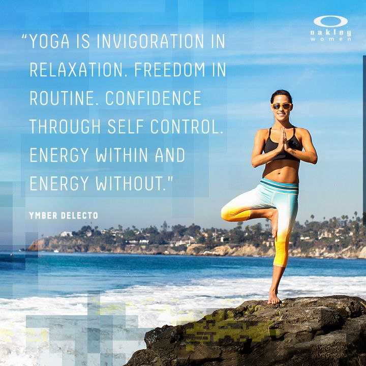No matter what style you practice, get your yoga on.