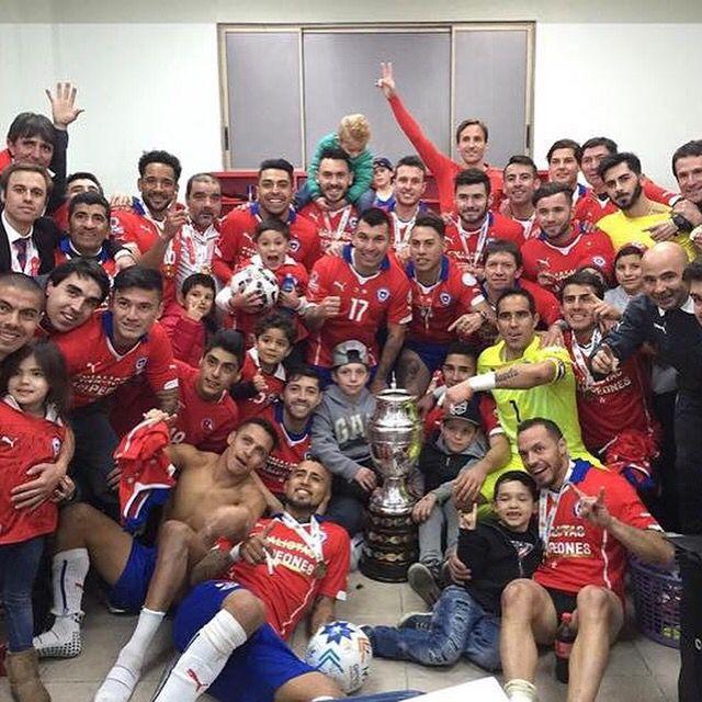 Chile Campeòn Copa América 2015