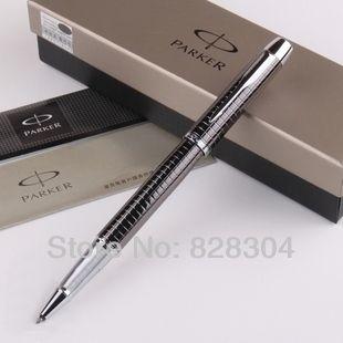 Ручка Parker IM шариковая ручка продажи серый Канцелярские Офисная техника Parker Pen бесплатная доставка