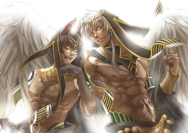 My two favorite egyptian gods! Anubis Thoth | Gods and goddess ...