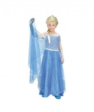 Disfraz Princesa de Hielo niña infantil para Carnaval