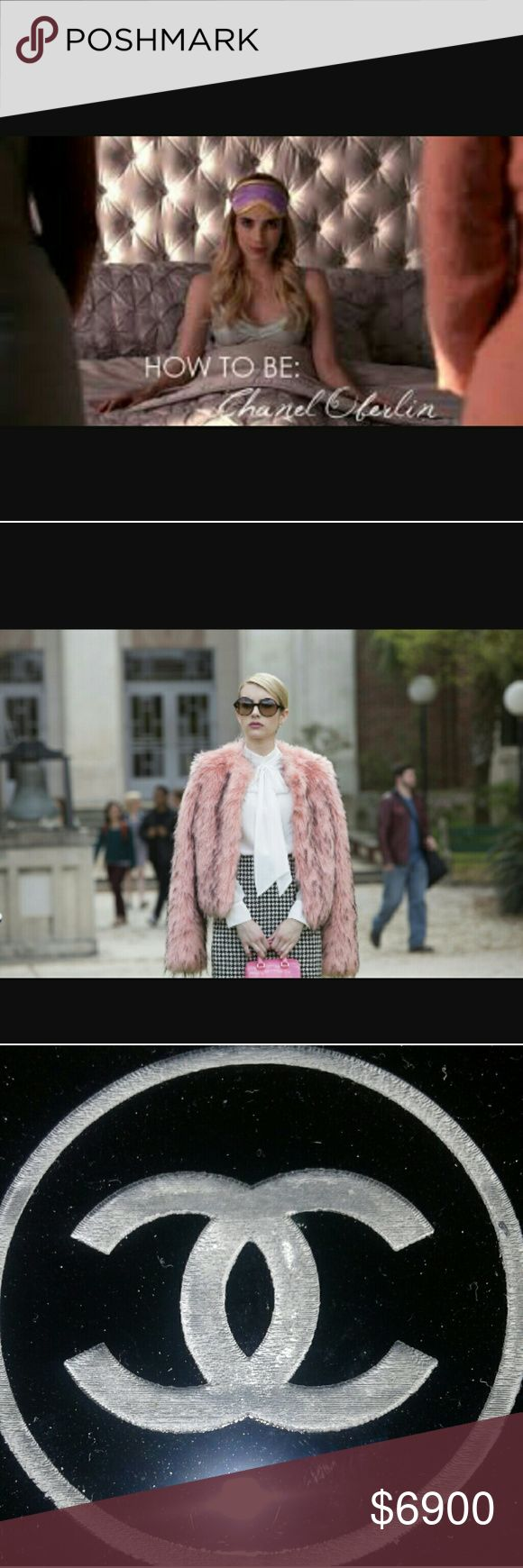 CHANEL OBERLIN 🏛Scream Queens😅 CHANEL OBERLIN Chanel Oberlin is the main protagonist of Scream Queens. She is the former president of Kappa...House🏛 CHANEL  Accessories