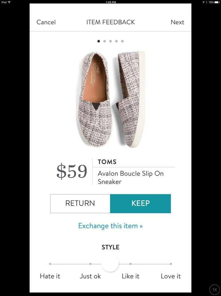 Stitch Fix Toms Sneakers