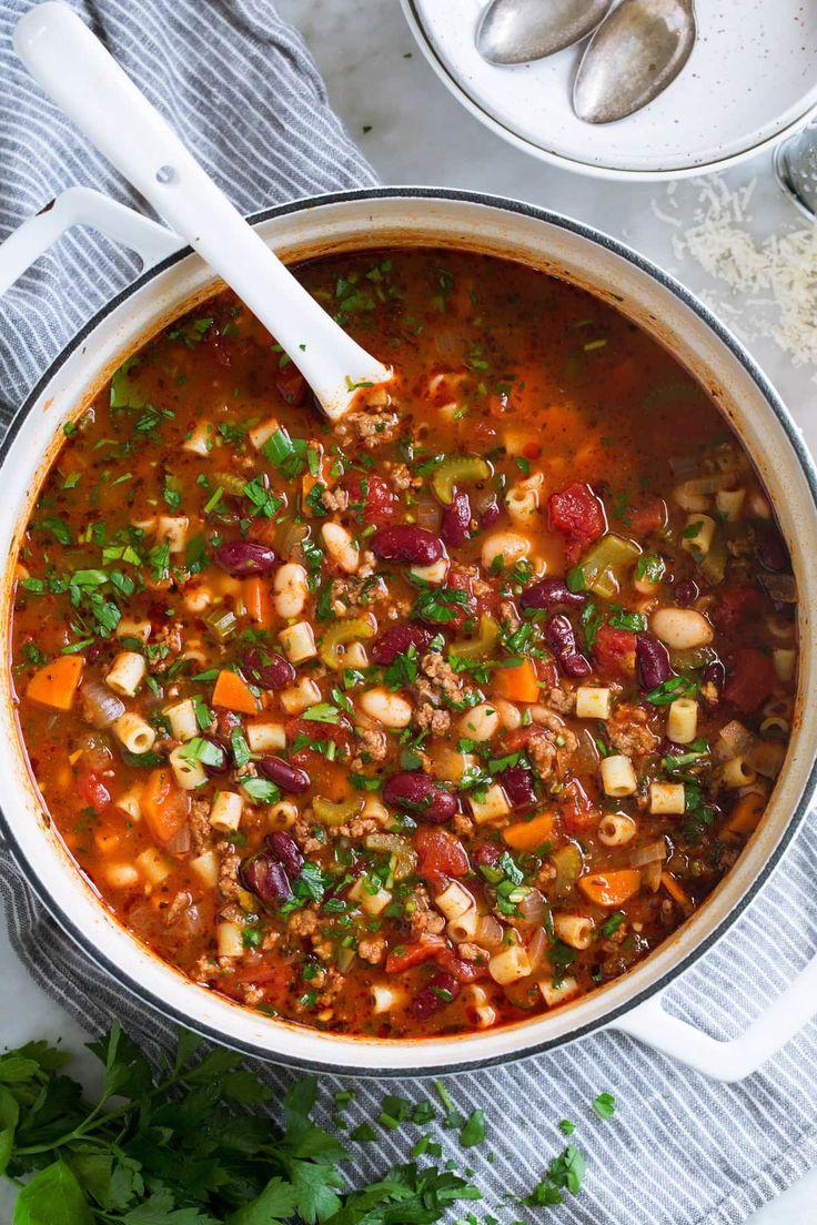 Pasta e Fagioli Soup a reader favorite and family