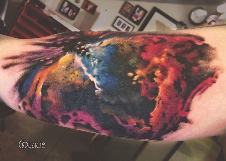 D'lacie Jeanne Custom Tattoos, Optic Nerve Arts Tattoo, Portland Oregon shop