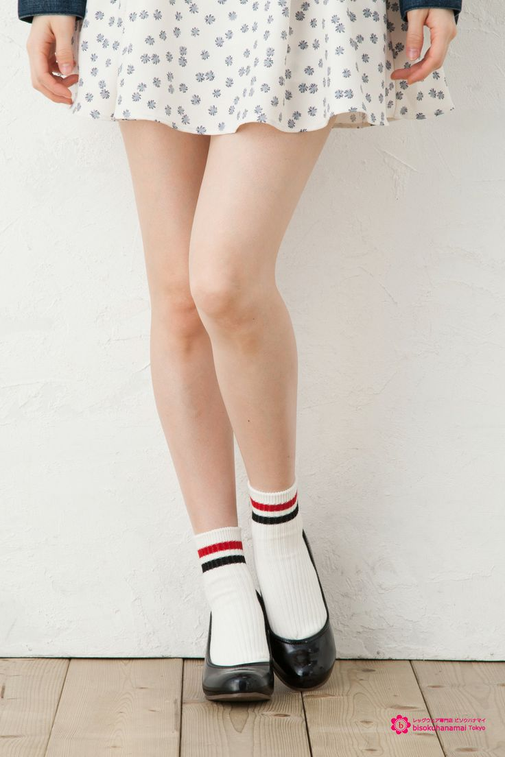 Multi color 2 line socks JPY340(without TAX)