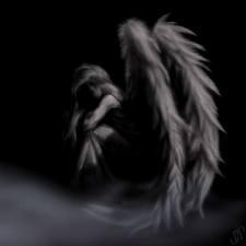 angels.. fallen angels...: Tattoo Ideas, Angel Wings, Fallenangel, Sad Angel, Fallen Angel, Dark Side, Dark Angel, Broken Heart Quotes, Darkangel