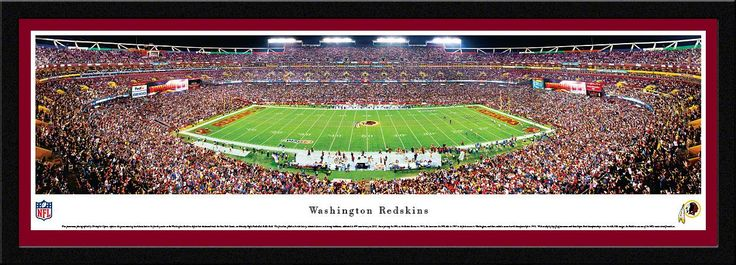 Washington Redskins FedEx Field 50 Yard Line Panoramic Picture