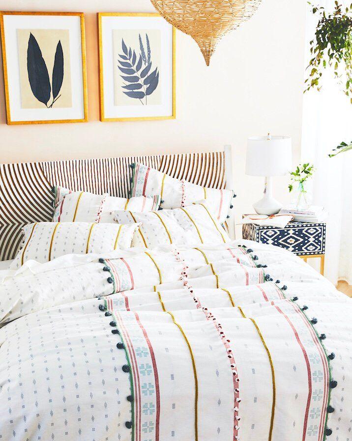 Tasseled Araya Duvet Cover Home Decor, Similar To Anthropologie Bedding