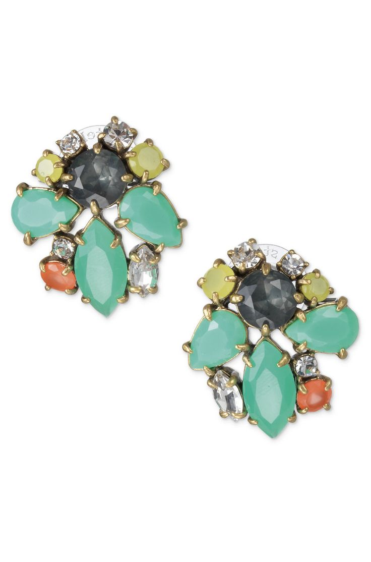Stella & Dot Noami Cluster Earrings