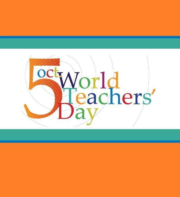 Happy World Teachers' Day! Bookshare celebrates all teachers, especially those of you providing inclusive education to your students with disabilities. Our Bookshare Mentor Teachers share best practices with their colleagues, students, and parents. Learn more about the Bookshare Mentor Teacher program at http://communications.bookshare.org/mentor-teachers/.  For more information about World Teachers' Day see http://www.worldteachersday.org/map/. Image: Oct. 5 World Teachers' Day.
