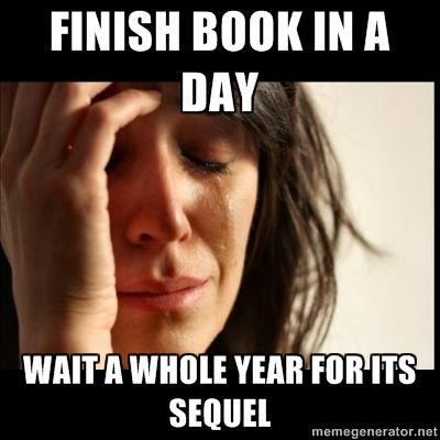 Image result for books frustrating meme