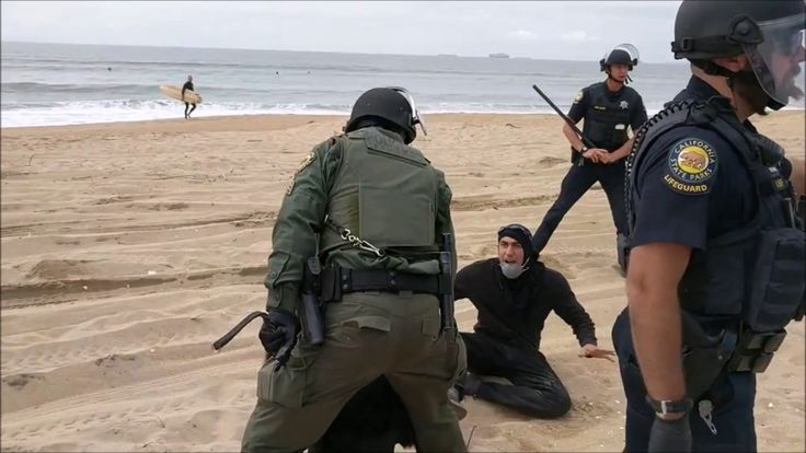 2017 Battle of Huntington Beach (Frogs vs. AntiFA) - Pt 2