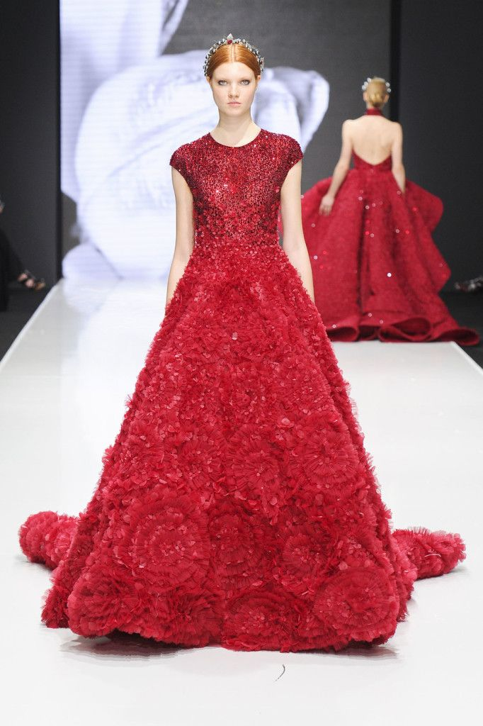 See Michael Cinco's Stunning Debut At Paris Couture Week