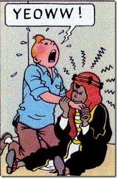 Tintin ~~ Abdullah bites