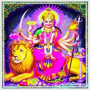 Durga - Quadrinhos confeccionados em Azulejo no tamanho 15x15 cm.Tem um ganchinho no verso para fixar na parede. Inspirados em deuses indianos. Para entrar em contato conosco, acesse: www.babadocerto.com.br