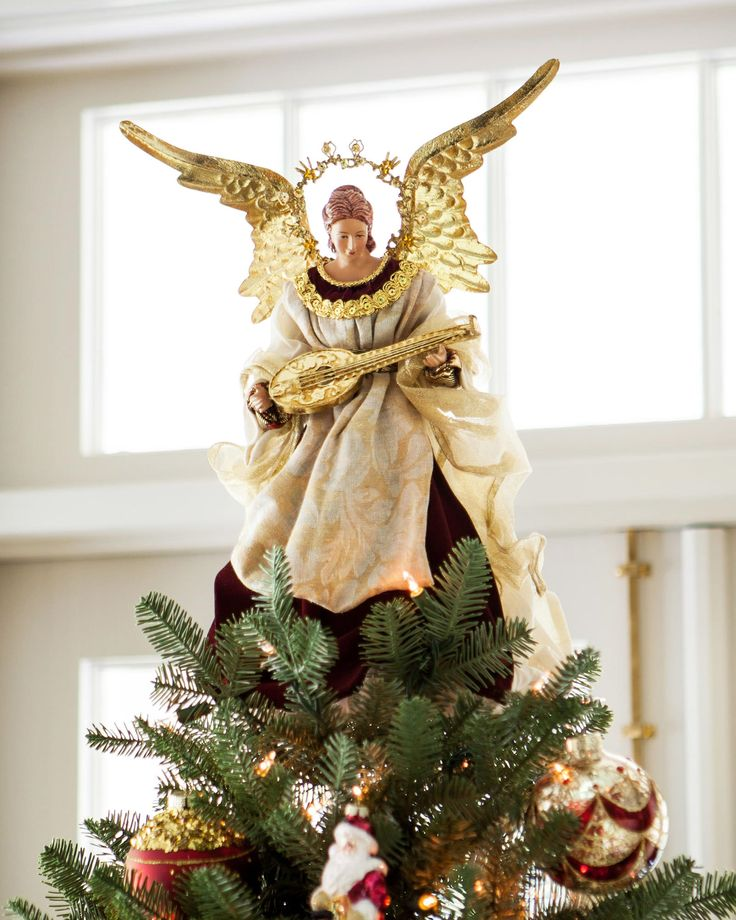 Best 25 angel christmas tree topper ideas on pinterest for Angel of the north christmas decoration