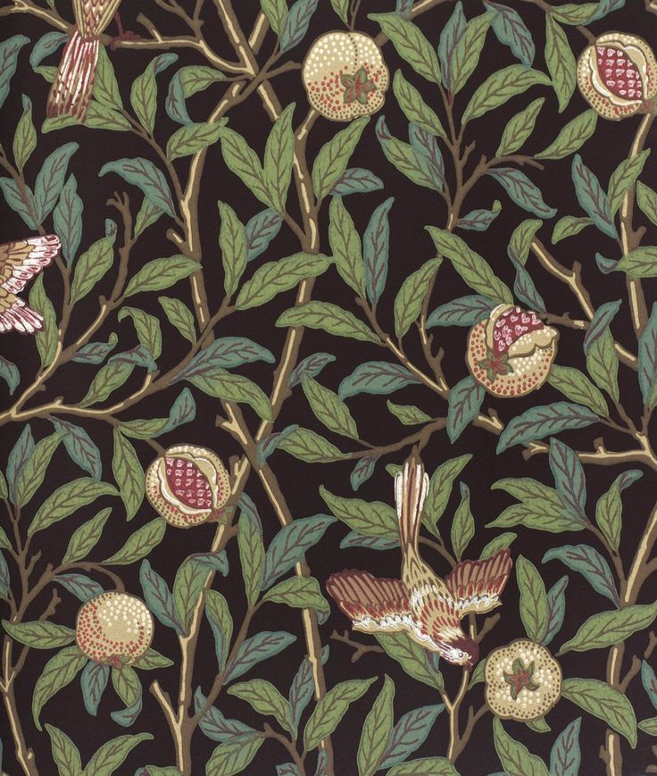 Bird & Pomegranate William Morris & Co. https//www