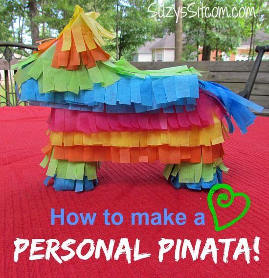 DIY Personal Piñatas and a fun Taco Party!