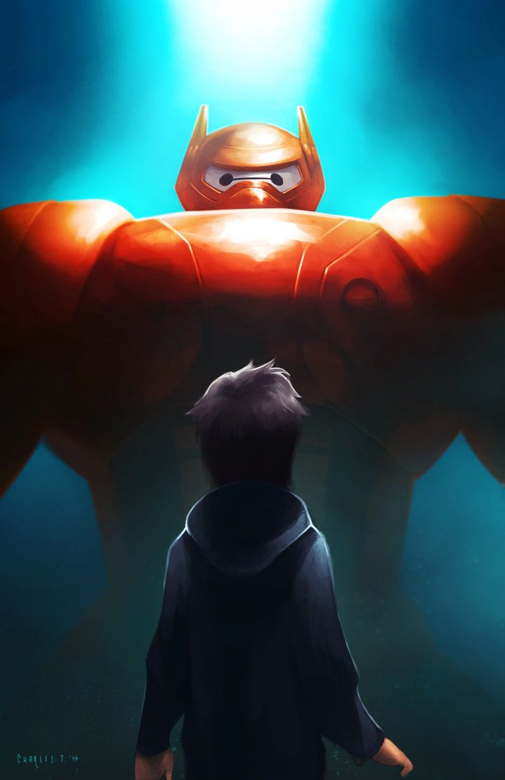 Big hero 6 credits scene they are not only books - Big Hero 6 By Charles Tan