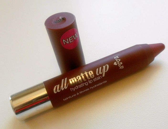 Hard Candy Earthy Marsala All Matte Up Hydrating Lip Stain Review