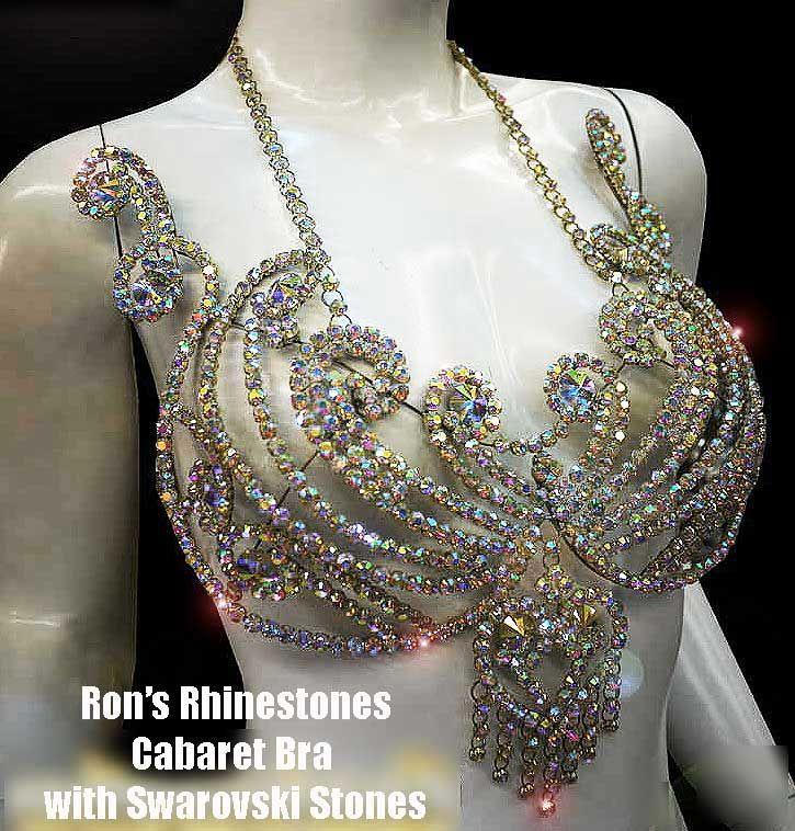 Ron's rhinestones cabaret bra... - via: yahoo search - Imgend