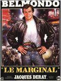 Le marginal : Film français action, thriller, policier - avec : Jean Paul Belmondo, Henry silva, Carlos Sotto Mayor, Pierre Vernier, Maurice Barrier, Claude Brosset, Tchéky Karyo, Roger Dumas (II) - 1983