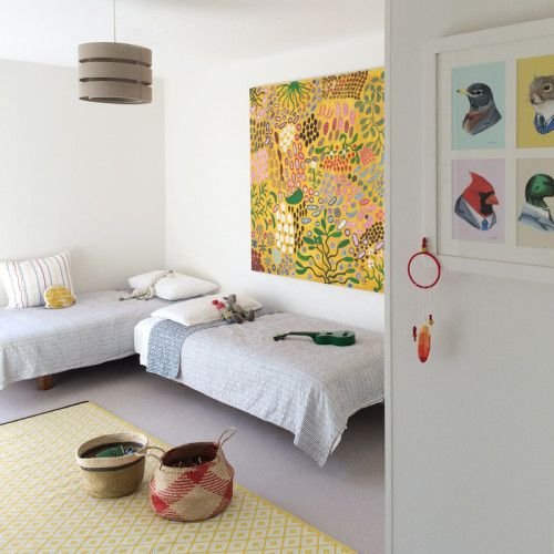 Shared kid's room. Decorating With The Whole Family In Mind | Sneak Peeks.