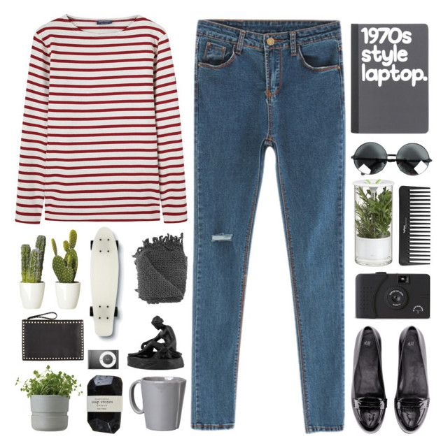 """""""LORI"""" by pure-and-valuable ❤ liked on Polyvore featuring Chicnova Fashion, Saint James, H&M, Rig-Tig by Stelton, Cassia, Crate and Barrel, Sephora Collection, Quiksilver, Wedgwood and Vietri"""