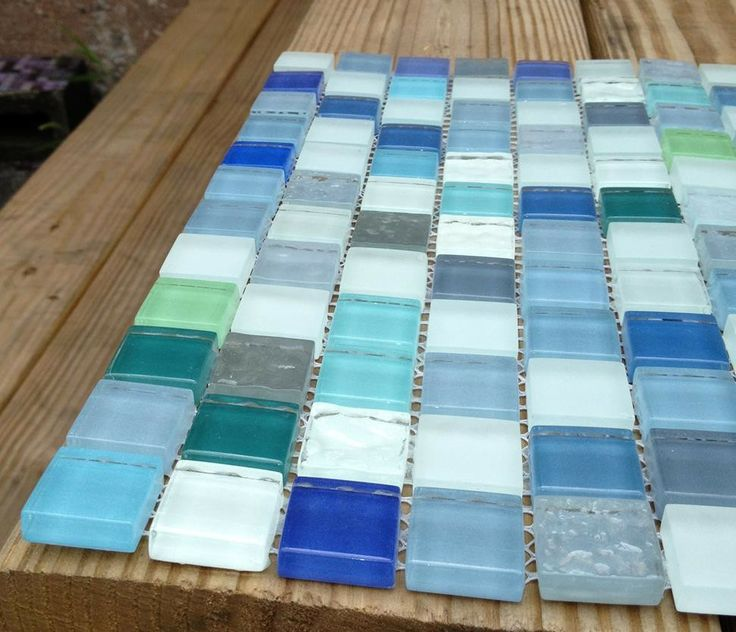 7 Best Sea Glass Backsplash Images On Pinterest