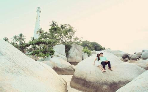 Prewedd Belitung_Pulau Lengkuas