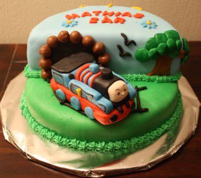 Thomas tog kake