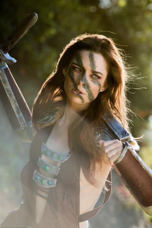 The Elder Scrolls V: Skyrim - Aela Cosplay by Chloe Dykstra