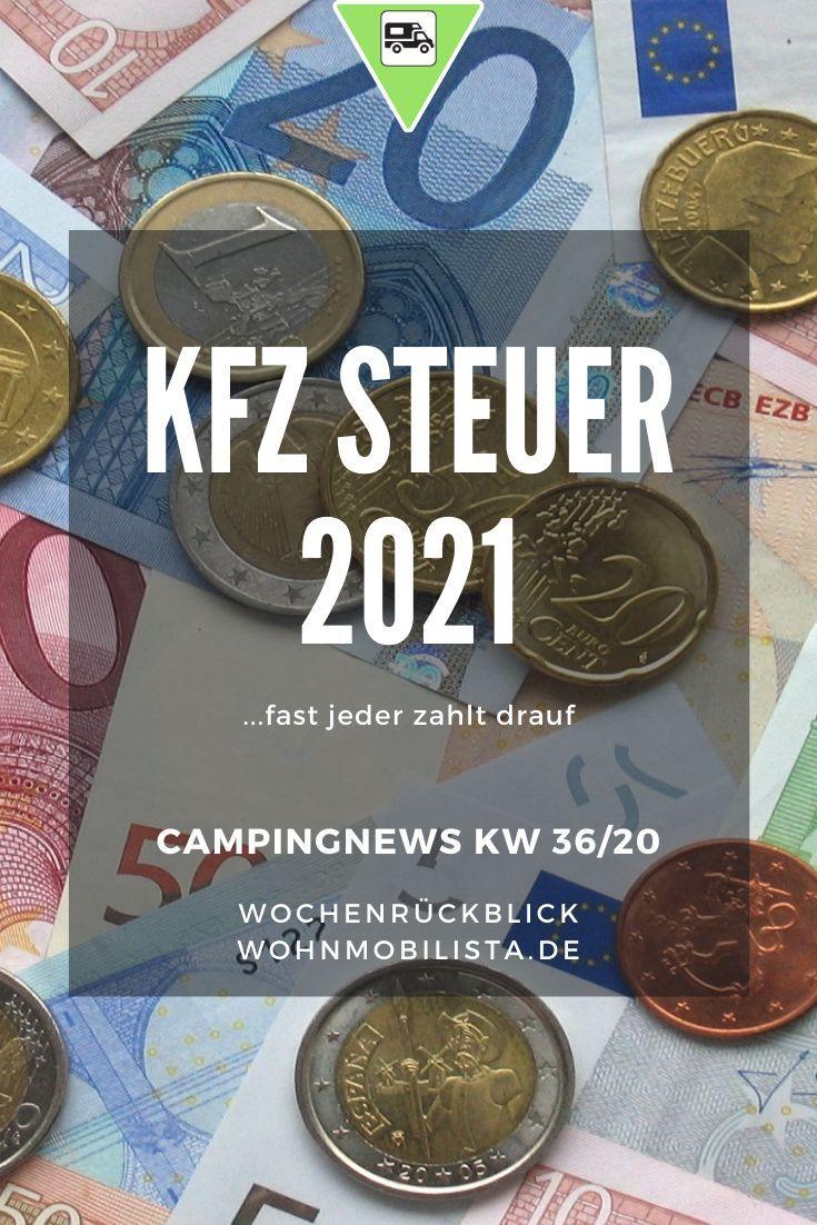 KFZ Steuer Diesel und Benzin 10  Camping News Wochenrückblick