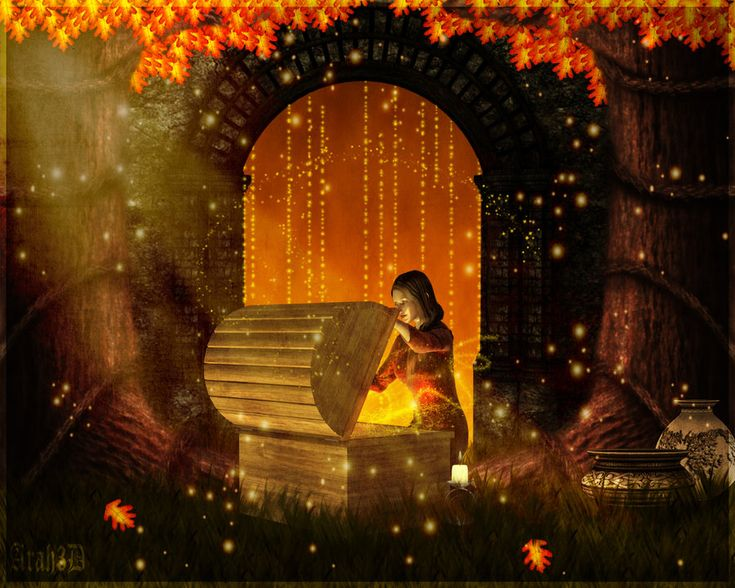 Cute Little Fairy Wallpaper Autumn Magic Art Autumn Magic By Arah019 Digital Art 3