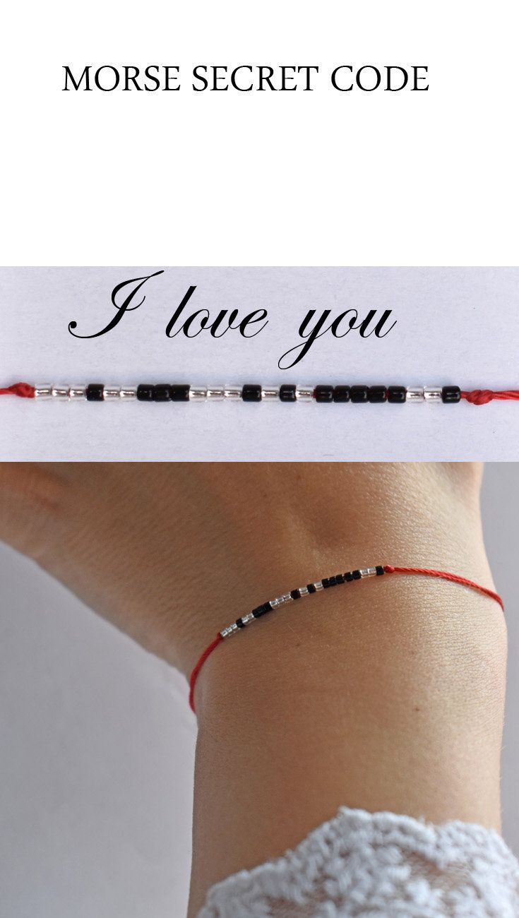 Morse code bracelet-hidden message Personalized Christmas or birthday jewelry gift-bridesmaid bracelet-jewelry for mom-sister-brother-dad.