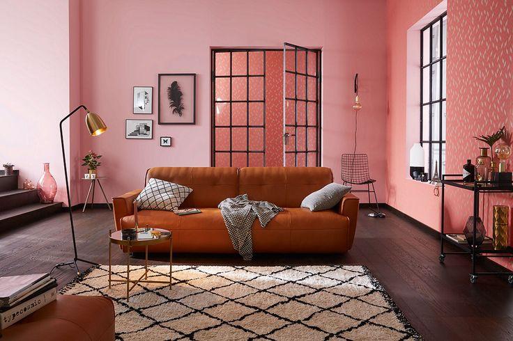Die besten 25 h lsta sofa ideen auf pinterest h lsta m bel wohnzimmer wanddekoration ideen - Rose gold wandfarbe ...