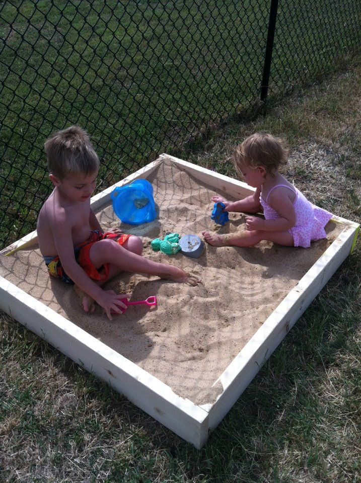 Diy Sandbox 30 For Sand And Building Materials Vs