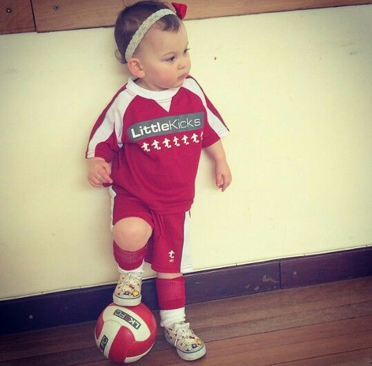 Guys, I entered Emilia in soccer! ( football if you don't live in the usa ) She's so cute!