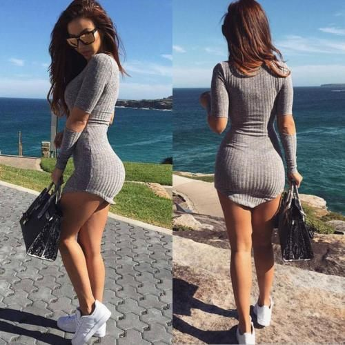 Women-Sexy-Summer-Bandage-Bodycon-Evening-Party-Cocktail-Casual-Short-Mini-Dress