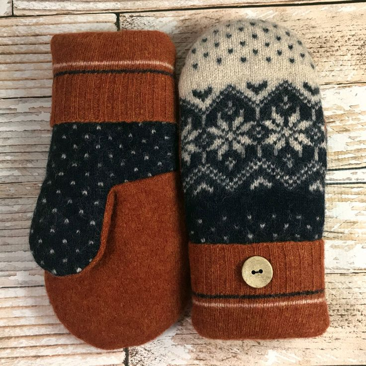 A personal favorite from my Etsy shop https://www.etsy.com/listing/568501269/sweater-mittens-worlds-warmest-upcycled