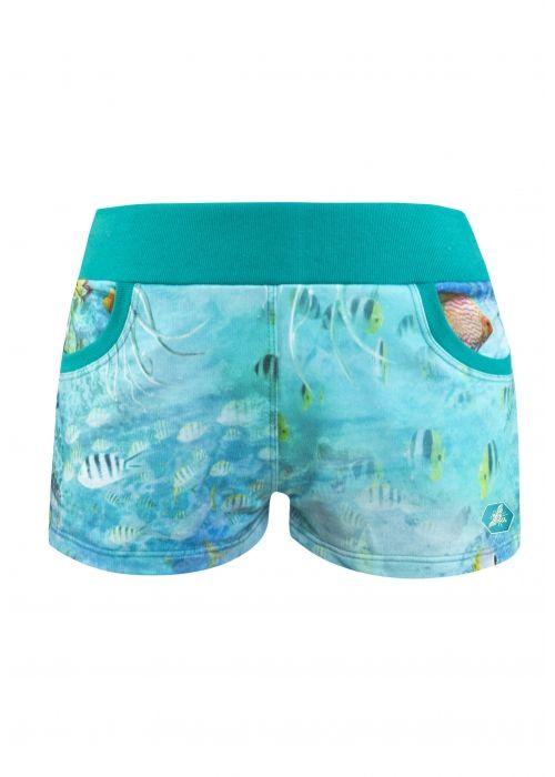 IDEALNE HOT PANTS - Deep Sea