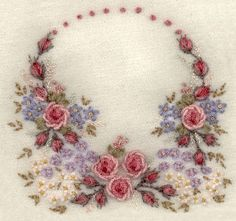 wool-on-wool embroidery