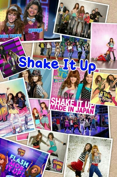Shake it up I love Bella Thorne and zendaya Coleman. If that isn't her last name please tell me I'm pretty sure it it
