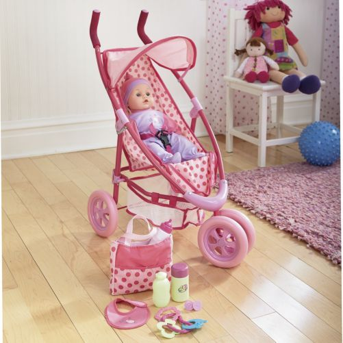 Dream Collection Baby Doll And Stroller Set $37.95