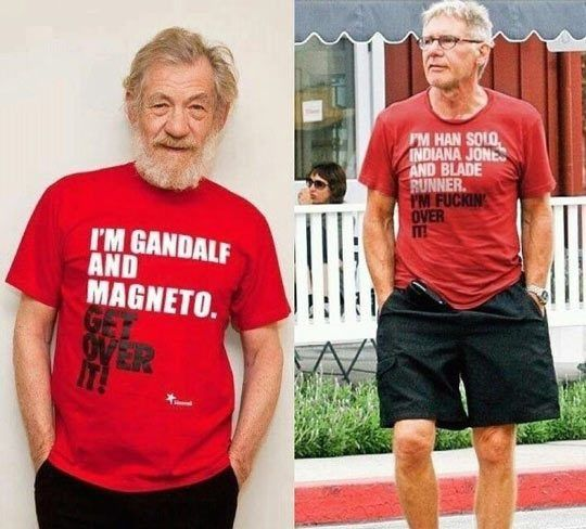 Harrison Ford´s Clever Response