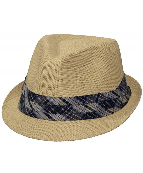 c8fc83e1dc498 Classic Summertime Fedora for Men and Women (Natural Color ...