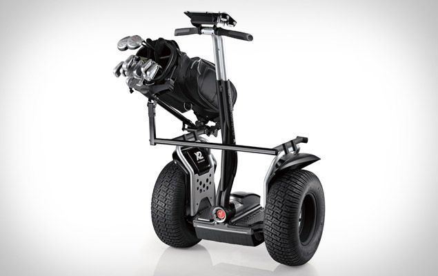 I shouldn't fuel @Sarah Tavel 's obsession with Segways, but...oh well. The Segway Golf Edition.