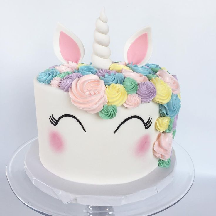 "112 Likes, 5 Comments - Cocoa & Fig (@cocoaandfig) on Instagram: ""We finally stopped squealing over how cute this unicorn cake was long enough to take a picture! 🦄…"""